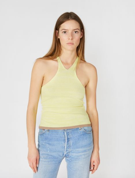 Deconstruct T-Bar Tank - Yellow Marle