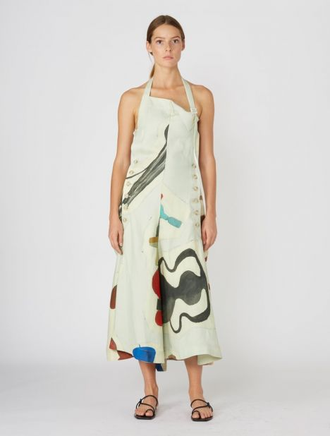 Tablier Halterneck Dress
