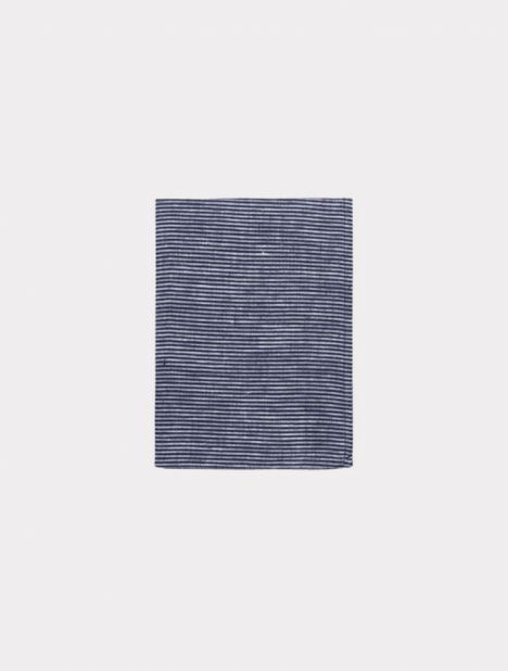 Tea Towel - Navy Seersucker