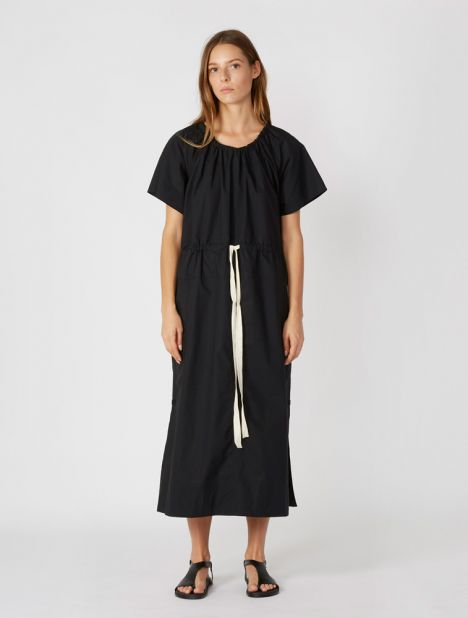 Workroom Tee Dress - Black