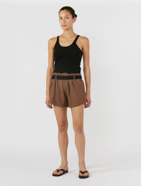 EXCLUSIVE | Belted Terry Short