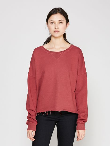 Brush Organic Cotton Terry Sweatshirt