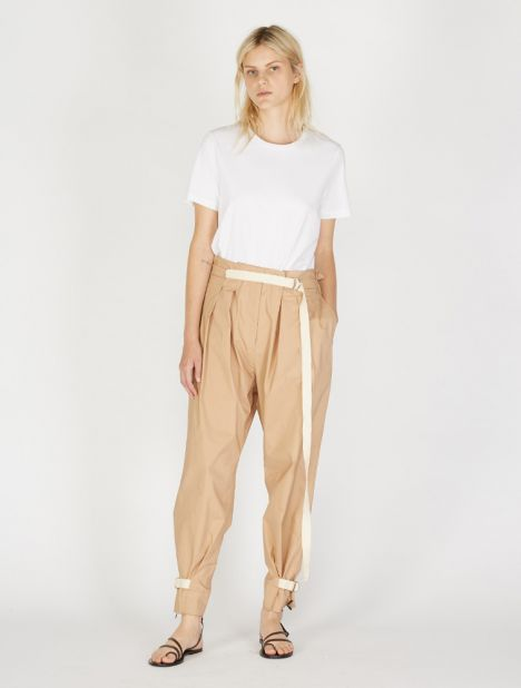 Tiggy Pleated Pant - Tobacco