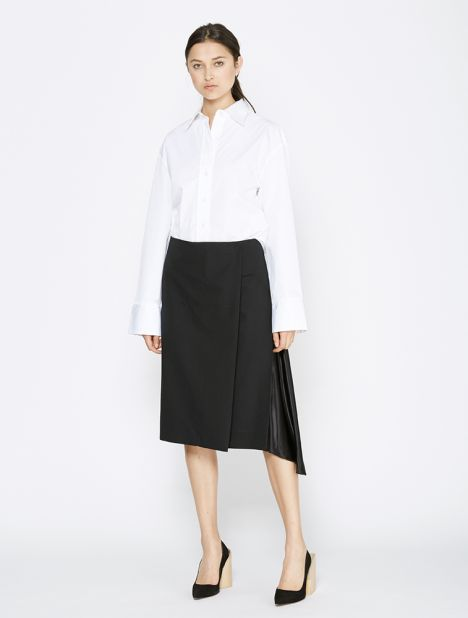 Tilt Kilt Wool Wrap Skirt