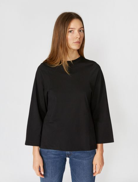 Espera Organic Long Sleeve Tee - Black