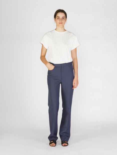 Troia Suit Trouser - Blue