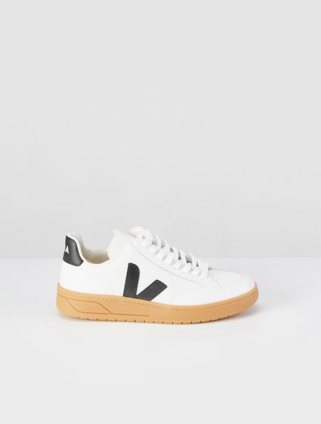 V-12 Leather Sneaker  - Extra White