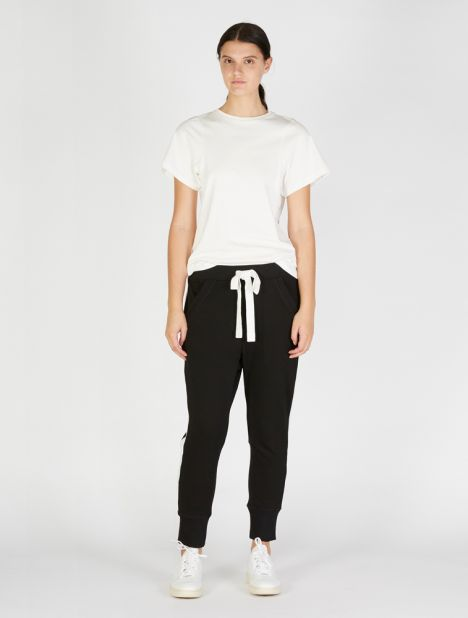 Vince Fleece Trackpant - Black