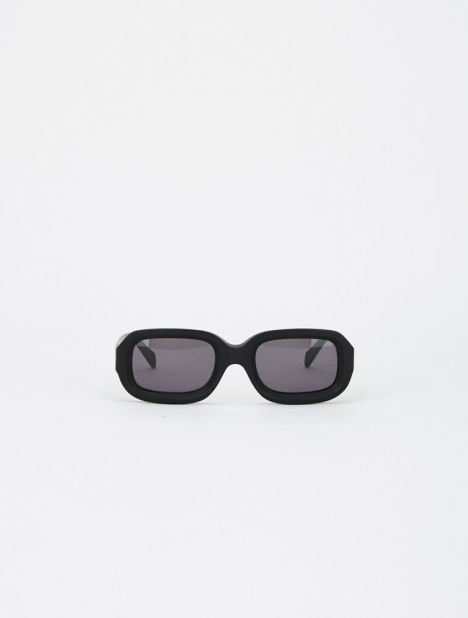 Vinyl Sunglasses - Matte Black