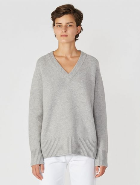 n°124 Vital Cashmere Sweater - Grey