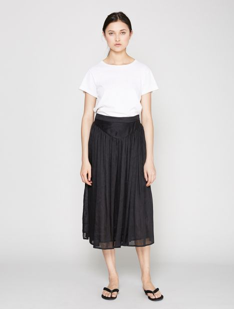 Westbourne Long Gathered Skirt