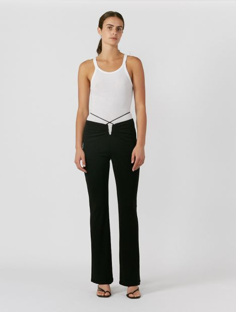 Wire Jersey Pant