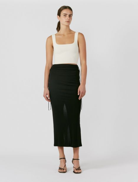 Wire Jersey Skirt