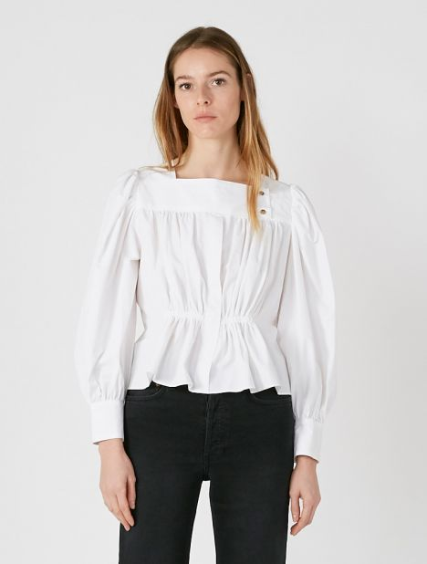 Allegra Gathered Blouse