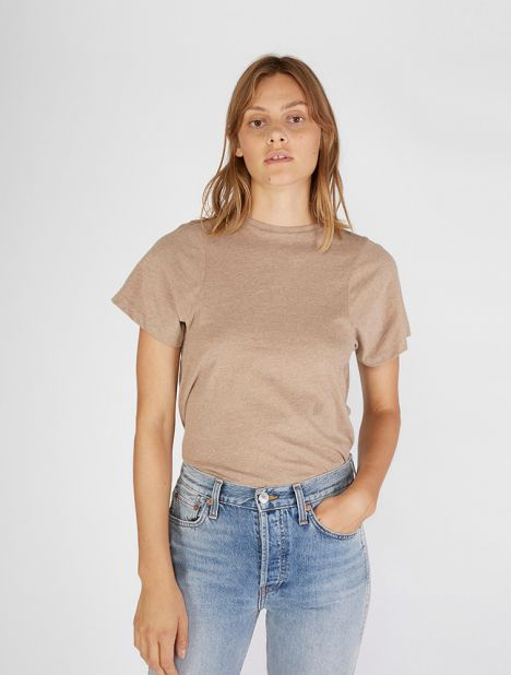 Espera Organic Cotton Tee - Light Camel