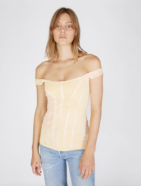 Yandex Off Shoulder Corset Top