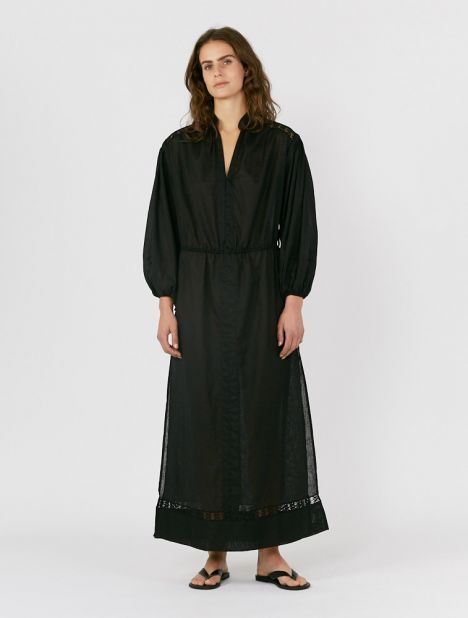 Zofie Maxi Smock Dress