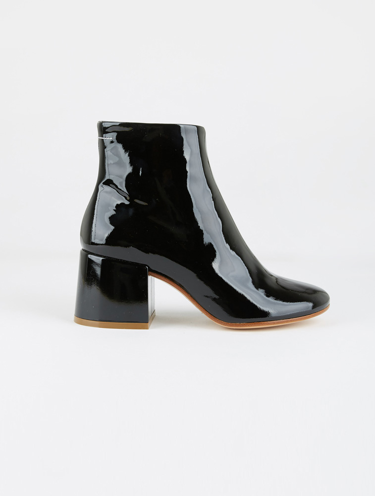 0d8b26f559421 MM6 Maison Margiela | Patent Leather Ankle Boot | My Chameleon