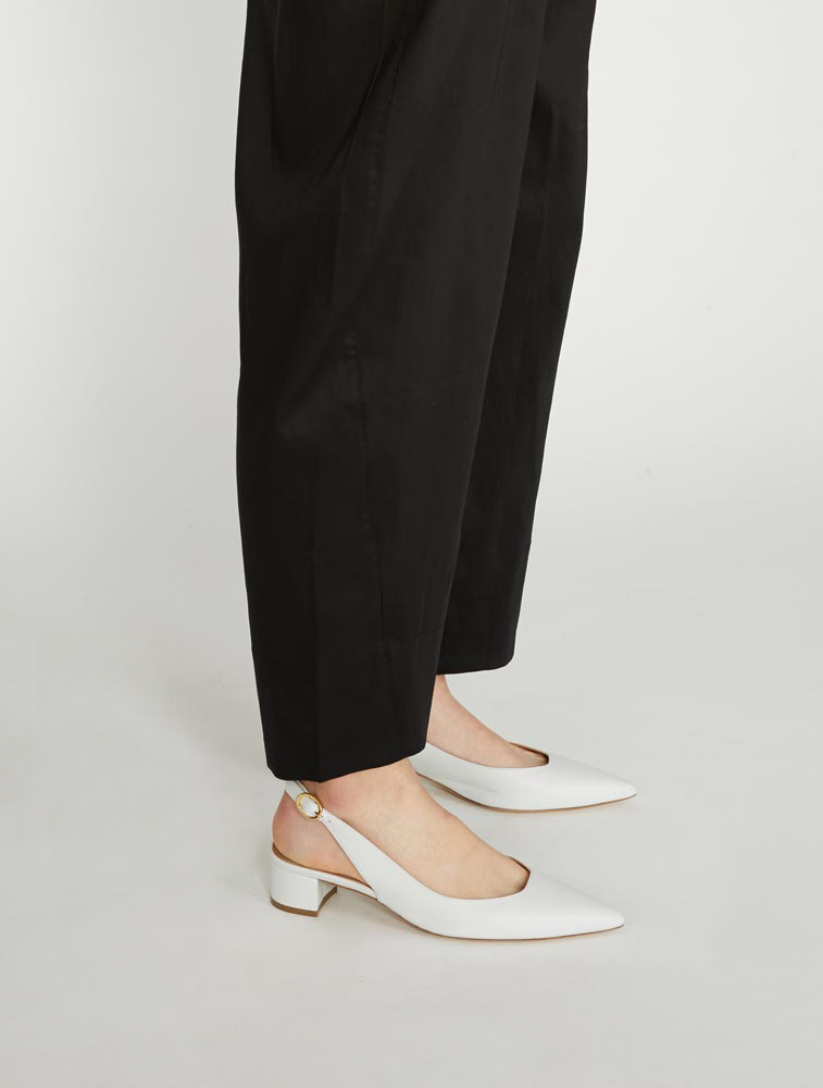 c689a718b01 Style With  Similar Items. More Choices  More Choices  Leather Slingback  Heel - Cammello. Mansur Gavriel