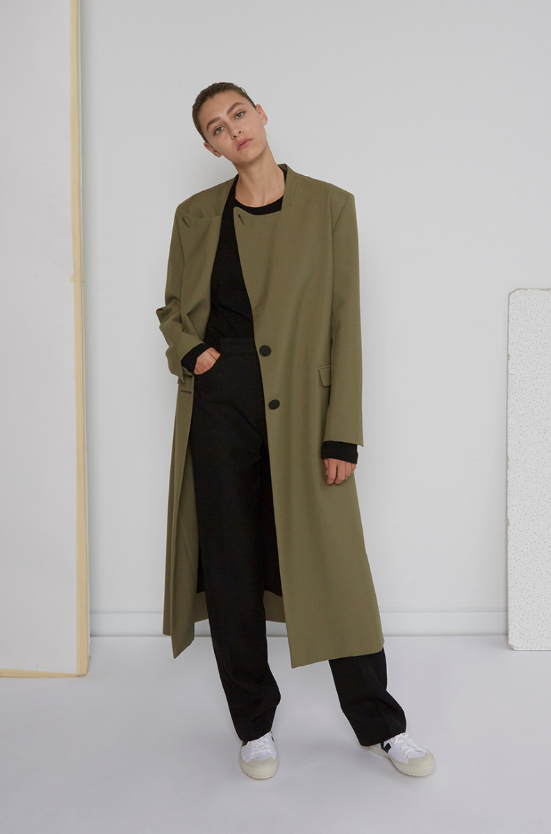 Christopher Esber Khaki Coat