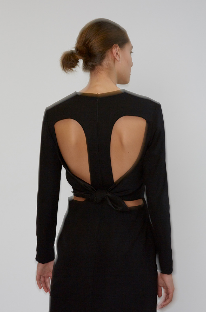 Christopher Esber Tie Back Dress