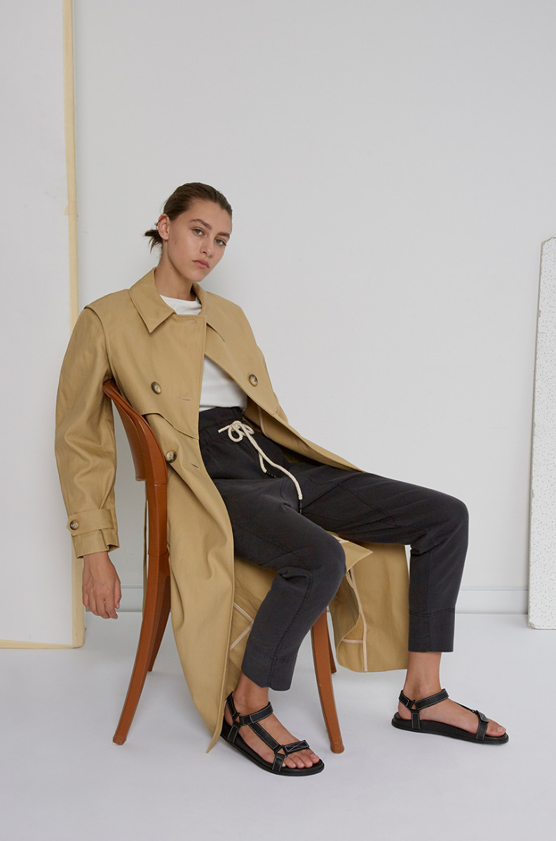 Les Coyotes de Paris Trench Coat