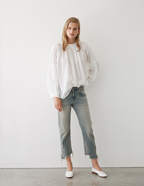 Mahsa Blouse, R13 Jeans and Martiniano Shoes