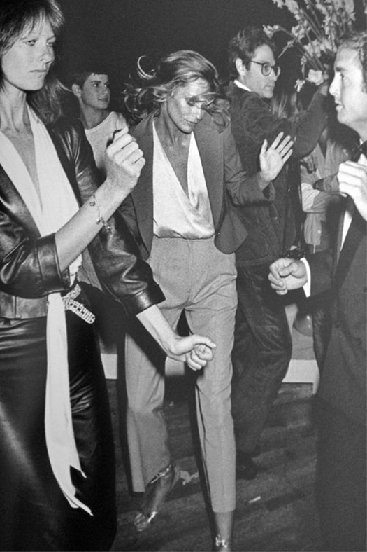 Lauren Hutton at Studio 54