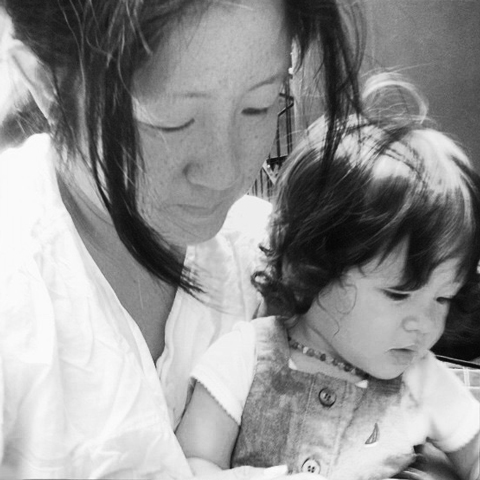 Valeryi Yong and her child